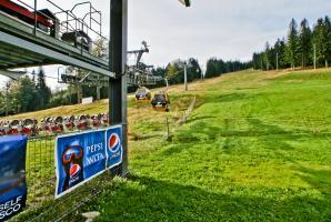 Tylna część stacji dolnej Ski&Sun