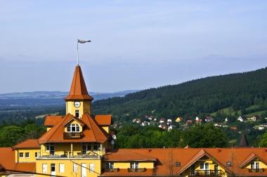 Panorama z wieżyczką