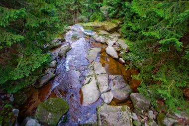 Nad wodospadem Kamieńczyka