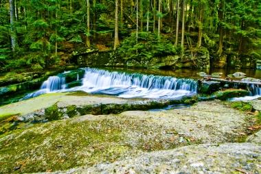 Górna część wodospadu