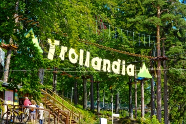 Trollandia park linowy w Szklarskiej Porębie