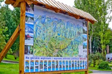 Mapa Karkonoszy