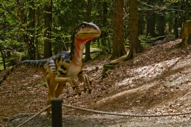 T.rex w Dinoparku