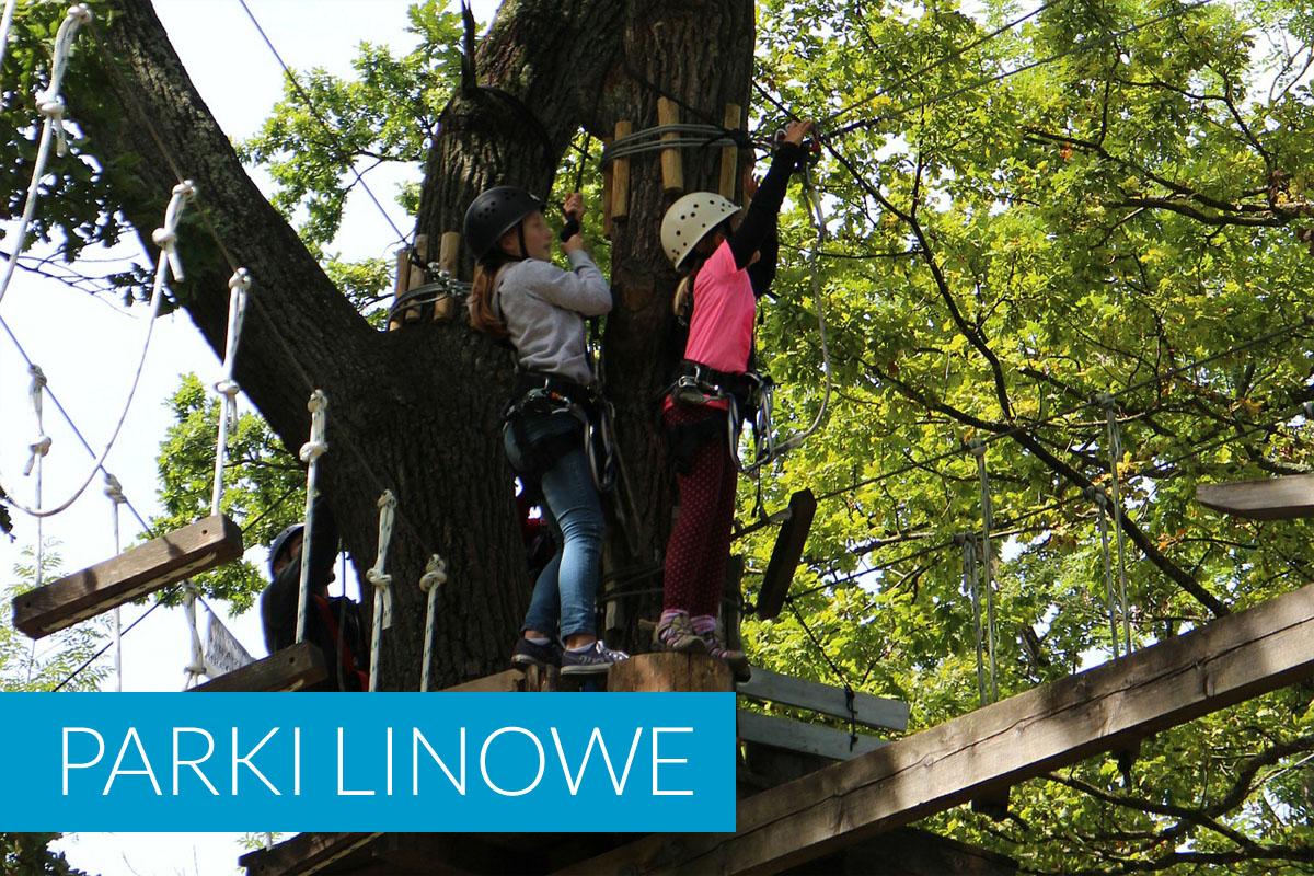 Parki linowe Darłówko i okolica