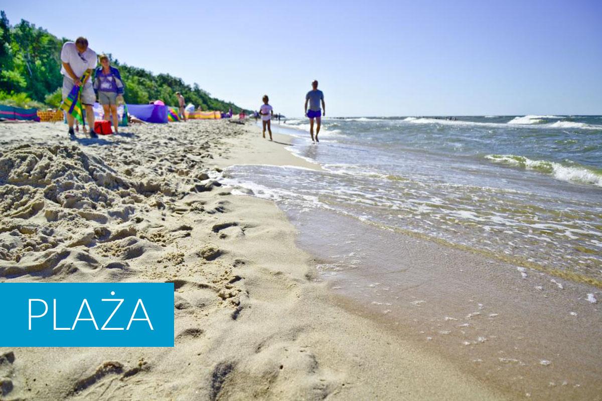 Plaża Ustronie Morskie