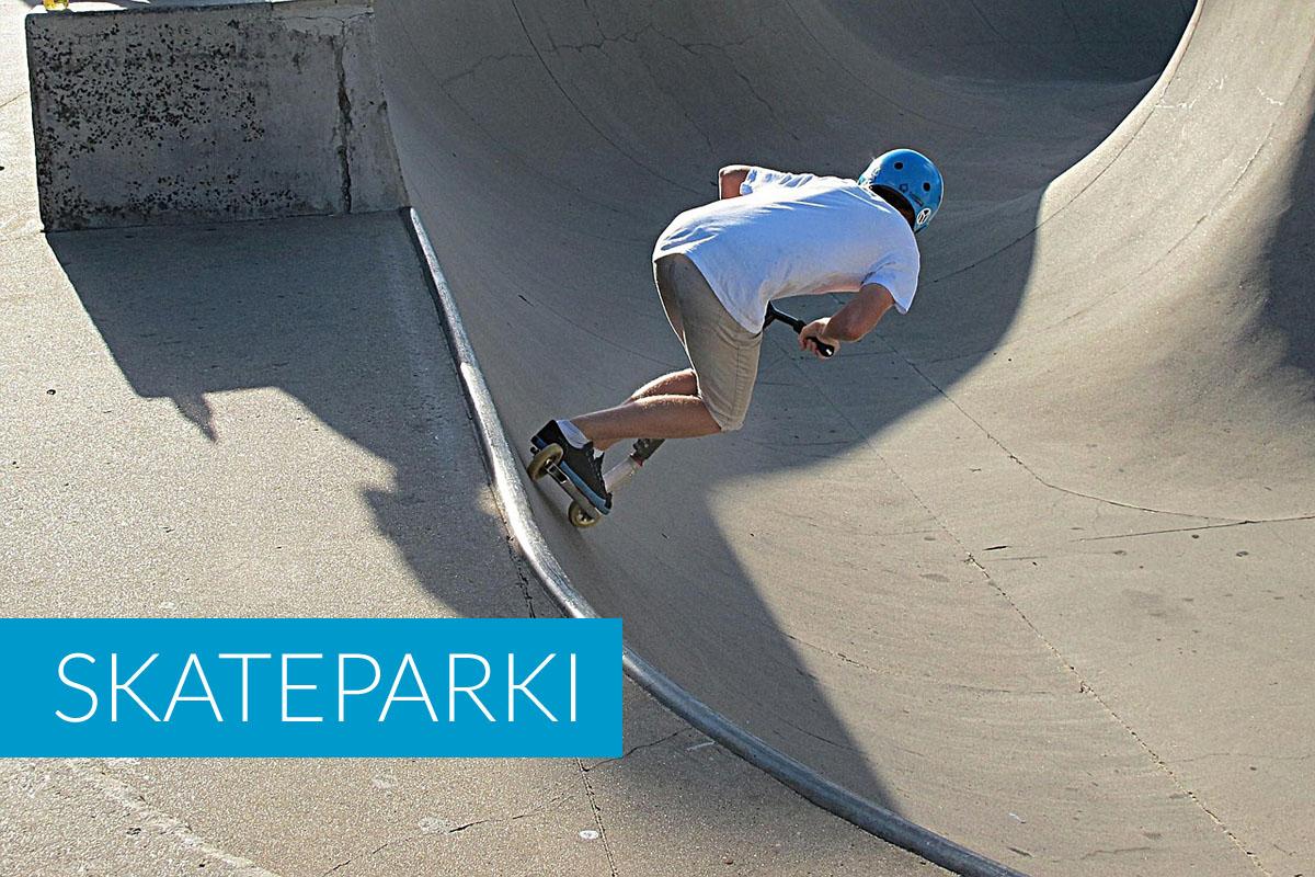 Skateparki w Trzęsaczu i okolicy