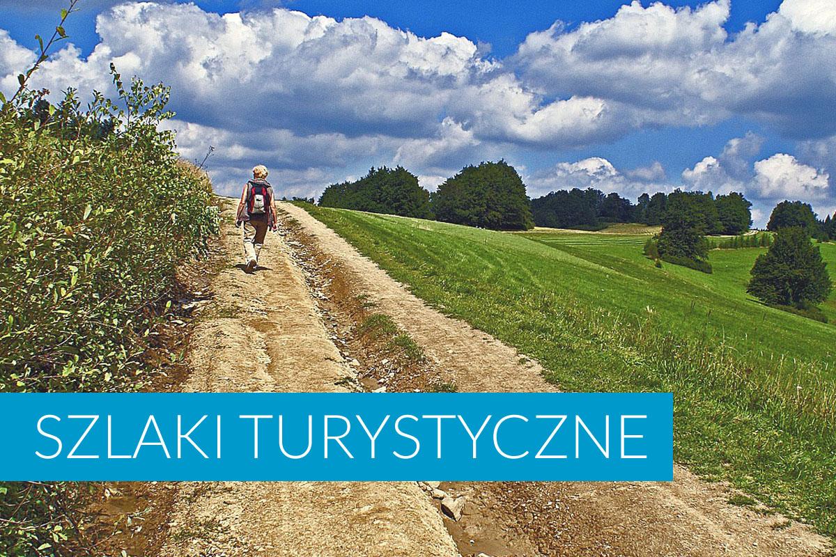 Szlaki turystyczne Kąty Rybackie i okolica