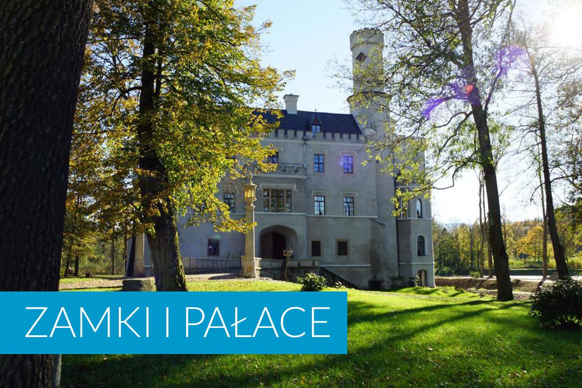 Zamki i pałace w okolicy Gąsek