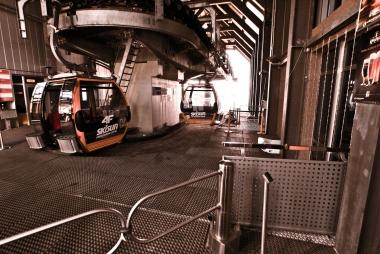 Wejście na peron odpraw