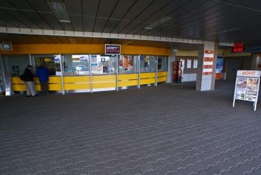 Kasa biletowa stacji dolnej