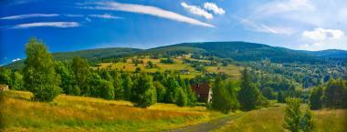 Panorama w okolicach Świeradowa