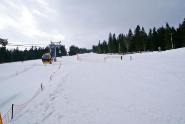 Na stoku narciarskim w Świeradowie