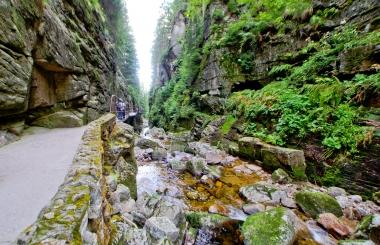 W skalach w Kanionie Kamieńczyka