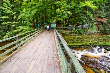 Most nad Kamienną w Szklarskiej Porębie