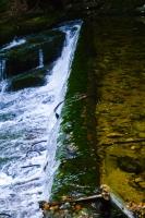 Górna część wodospadu Szklarki