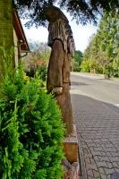 Rzeźba drewniana w Szklarskiej Porębie.