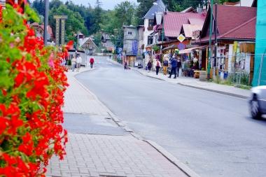 Ulica 1 Maja w Szklarskiej Porębie