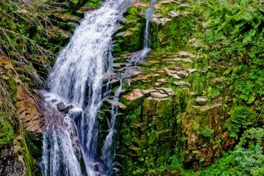 Górny fragment wodospadu