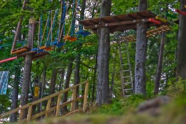 Park linowy w Szklarskiej Porębie