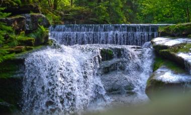 Wodospad Szklarki - atrakcja