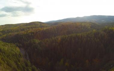 Panorama z okolic Złotego Widoku