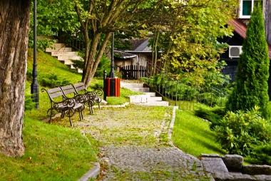 Park w Szklarskiej Porębie