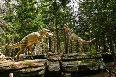 T.rex w akcji