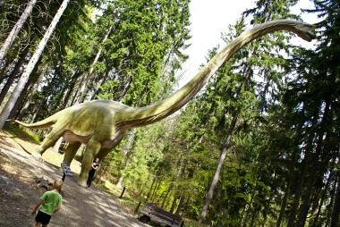 Brachiozaur w Szklarskiej Porębie